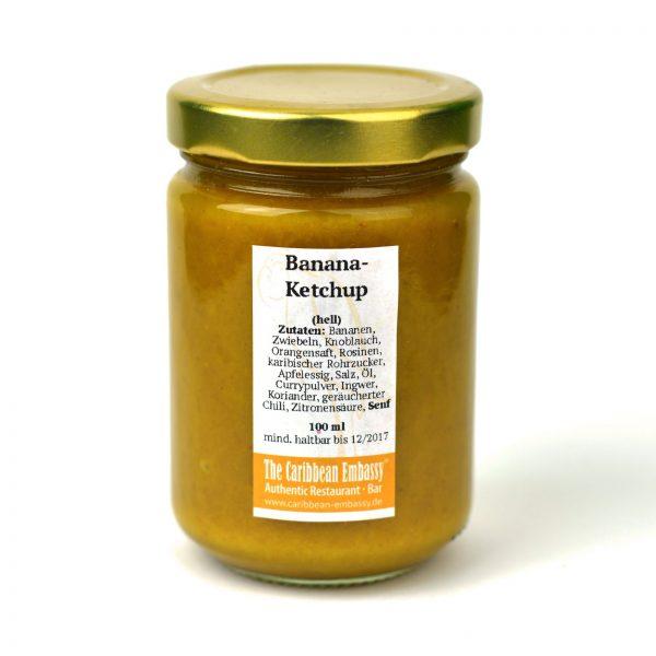 Bananen-Ketchup hell