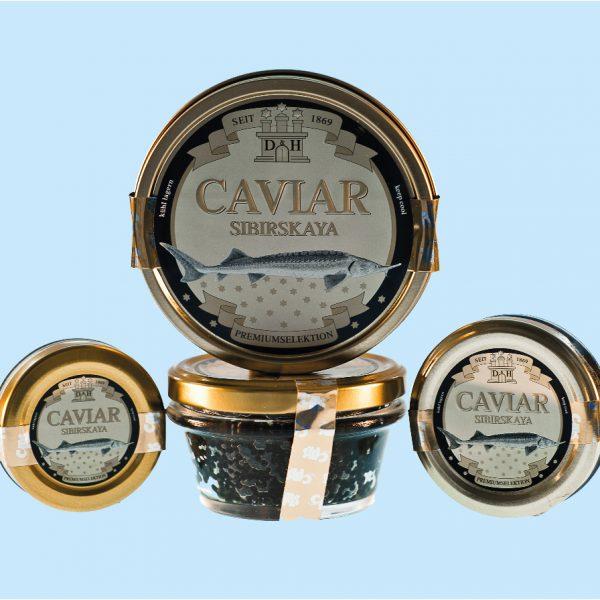 SIBIRSKAYA Caviar (Acipenser baerii)